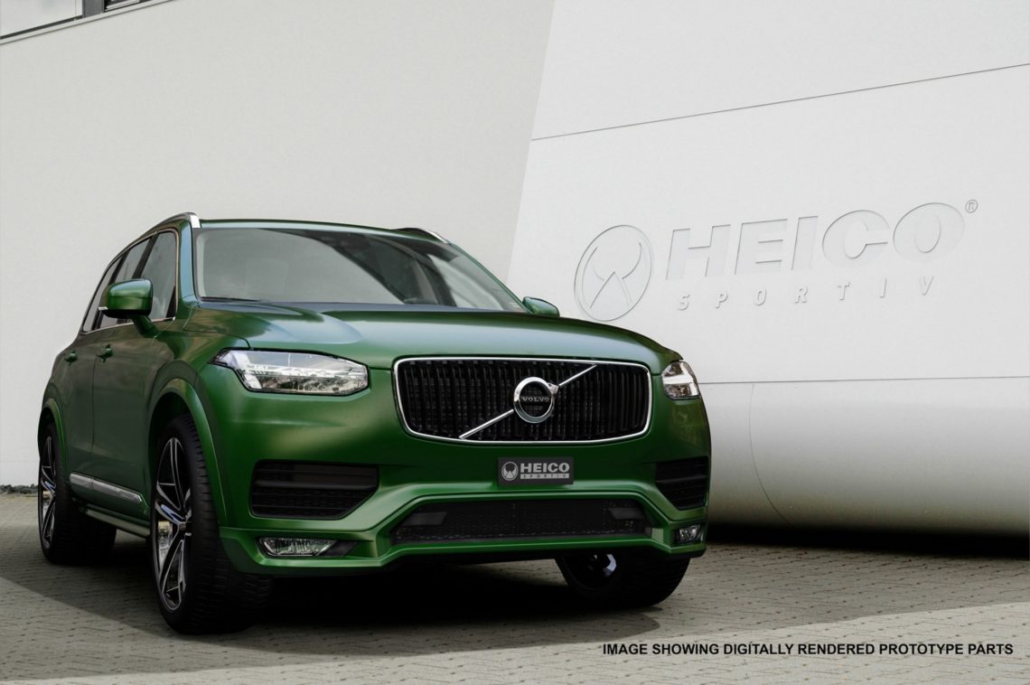 volvo xc90 mit heico tuning. Black Bedroom Furniture Sets. Home Design Ideas
