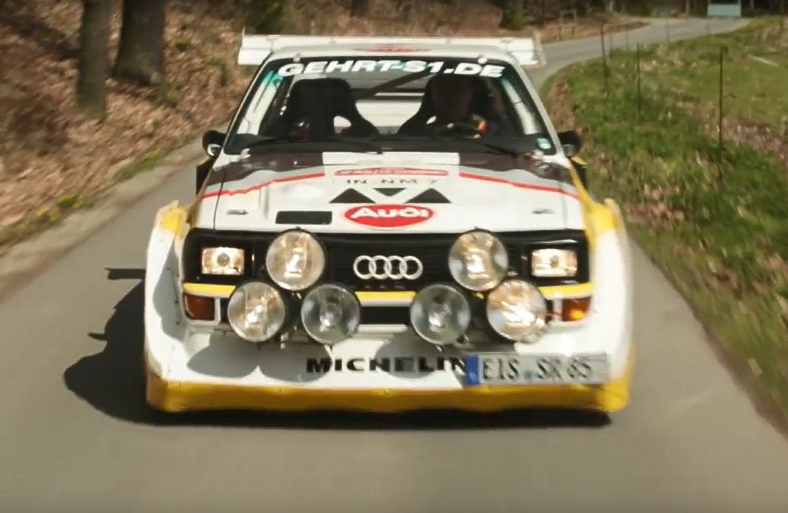 audi sport quattro s1 e2 die rallye legende von 1985. Black Bedroom Furniture Sets. Home Design Ideas